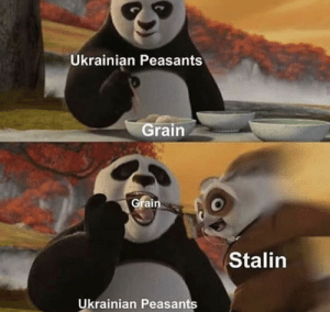 Hippity hippity your grain is _our_ property: Ukrainian Peasants  Grain  Grain  Stalin  Ukrainian Peasants Hippity hippity your grain is _our_ property