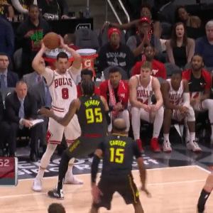 Zach LaVine with a career-high 47 PTS (17-35 FG, 6-14 3PT, 7-11 FT), 9 AST, 9 REB, 8 TO in the Bulls 168-161 win over the Hawks.   Chris Tucker wasn't happy.   https://t.co/2bGZvIG0ZW: ULIS  95  15  52 Zach LaVine with a career-high 47 PTS (17-35 FG, 6-14 3PT, 7-11 FT), 9 AST, 9 REB, 8 TO in the Bulls 168-161 win over the Hawks.   Chris Tucker wasn't happy.   https://t.co/2bGZvIG0ZW