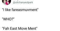 """Who, Can, and Move: @ultchanyeolpark  """"