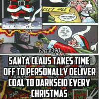"""""""Definitely naughty...""""😂😂 (Via @marvelfact.ig) -- What are you gonna be doing during your Christmas Break??: ULTIMATE  HERO FACTS  ITS A  WMP OF  COAL FOR  AGAIN.  Fact #390  SANTA CLAUS TAKESTIME  OFF TO PERSONALLY DELIVER  COAL TODAR  EVERY  CHRISTMAS """"Definitely naughty...""""😂😂 (Via @marvelfact.ig) -- What are you gonna be doing during your Christmas Break??"""