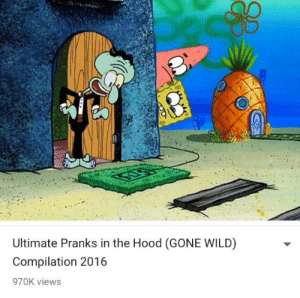 The Hood, Wild, and Hood: Ultimate Pranks in the Hood (GONE WILD)  Compilation 2016  970K views **GONE WRONG** **GONE SEXUAL**