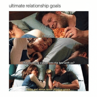 Goals, Love, and Pizza: ultimate relationship goals  love you  Did youbring a pizza into the bed with us?  also.got some ranch dipping sauce. All about the ranch