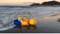 """Creepy, Journey, and Lego: ultrabrontoburt:  beekirby:  berix-soul-reaver:  amnail:  huffingtonpost:  A Mysterious Giant Legoman Has Appeared On A Japanese Beach   Lego Island is real  Is this what happens when you are finally ready to le  These things have been washing up on beaches since 2007 Nobody knows where they come from, and they all say """"No real than you are"""" on their torsos This is some creepy shit I remember reading about this exact same thing happening somewhere else in like 2011  I like the way the Lego is like """"My journey is finally complete…"""""""