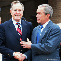 "Statement from the 43rd President of the United States, George W. Bush, on the passing of his father: ""Jeb, Neil, Marvin, Doro, and I are saddened to announce that after 94 remarkable years, our dear Dad has died. George H. W. Bush was a man of the highest character and the best dad a son or daughter could ask for. The entire Bush family is deeply grateful for 41's life and love, for the compassion of those who have cared and prayed for Dad, and for the condolences of our friends and follow citizens."": UM WATSON/APP/Getty Images Statement from the 43rd President of the United States, George W. Bush, on the passing of his father: ""Jeb, Neil, Marvin, Doro, and I are saddened to announce that after 94 remarkable years, our dear Dad has died. George H. W. Bush was a man of the highest character and the best dad a son or daughter could ask for. The entire Bush family is deeply grateful for 41's life and love, for the compassion of those who have cared and prayed for Dad, and for the condolences of our friends and follow citizens."""