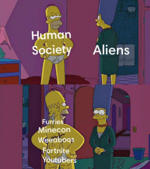youtube.com, Aliens, and Extraterrestrial: umar  Society Aliens  0  Furries  Minecon  eeaboos  Fortnite  Youtube Extraterrestrial contact