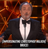 The part of Christopher Walken was played by Kevin Pollak at the #BruceWillisRoast. See it for yourself, July 29.: UMPERSONATING CHRISTOPHER WALKEN]  BRUCE The part of Christopher Walken was played by Kevin Pollak at the #BruceWillisRoast. See it for yourself, July 29.