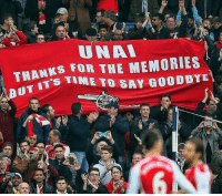 Arsenal, Memes, and Time: UNAL  THANKS FOR THE MEMORIES  UT  T'S TIME TO SAY GOODBYE Arsenal fans already 😂👏