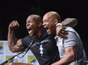 Terry Crews, Will Smith, and Will: UNATURE  rURLE Terry Crews and Will Smith
