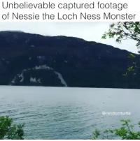 loch ness: Unbelievable captured footage  of Nessie the Loch Ness Monster