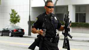 """unbossed: blackourstory:  afro-dominicano:  rtamerica:  Dozens of police departments suspended for losing US military-grade weaponry Close to 200 state and local police departments in the United States have been suspended for losing military-level equipment transferred to them by the Pentagon, a new investigation found. According to the media outletFusion, its independent investigation into the Pentagon's """"1033 program,"""" which equips state and local police departments across the US with excess military equipment, turned up an alarming trend: Not only did many law enforcement agencies fail to comply with the program's guidelines, they routinely lost dangerous weaponry. Already, the investigation has found that police departments in Arizona, California, Mississippi, Missouri, Georgia, and others have lost or cannot account for various types of weapons. This list includes M14 and M16 assault rifles, .45-caliber pistols, shotguns, and even vehicles.  """"they routinely lost dangerous weaponry"""" that is very fucking alarming, who the hell are they being lost to? the same white supremacists bastards killing every one??  How much do you wanna bet they """"lo$t them"""" to white supremacist friends and groups?   ^^^^^ : unbossed: blackourstory:  afro-dominicano:  rtamerica:  Dozens of police departments suspended for losing US military-grade weaponry Close to 200 state and local police departments in the United States have been suspended for losing military-level equipment transferred to them by the Pentagon, a new investigation found. According to the media outletFusion, its independent investigation into the Pentagon's """"1033 program,"""" which equips state and local police departments across the US with excess military equipment, turned up an alarming trend: Not only did many law enforcement agencies fail to comply with the program's guidelines, they routinely lost dangerous weaponry. Already, the investigation has found that police departments in Arizona, California, Mississippi, Mis"""