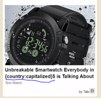 Advertising bot is getting lazy: Unbreakable Smartwatch Everybody in  (country:capitalized)$ is Talking About  Tact Watch  by Tab Advertising bot is getting lazy