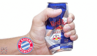 Memes, Red Bull, and Bulls: UNC  ERG  With Taurine, V Live scenes from Bayern vs Red Bull