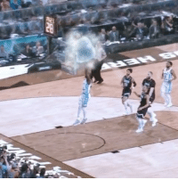UNC wasted no time breaking the ice in the national championship, with @Intel 360 Replay technology.: UNC wasted no time breaking the ice in the national championship, with @Intel 360 Replay technology.
