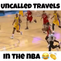 Memes, Nba, and 🤖: UnCALLeD TRAveLS  In THe nBA