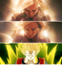 Are we sure Captain Marvel isnt a Saiyan?: UNCANNYNERDGUY Are we sure Captain Marvel isnt a Saiyan?