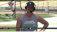 Memes, Under Armour, and Hilarious: UNDER  ARMOUR  2 CHATTER they got Kershaw Golden MVPforASG  GSports Aaron Don't know   @kikehndez & Clayton Kershaw are HILARIOUS..😂🔥👌 bestfriends