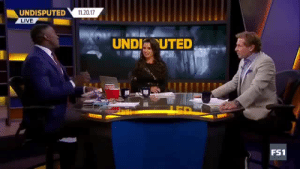 "Shannon Sharpe, Tumblr, and Blog: UNDISPUTED1120.17  LIVE  UNDIUTED  FS1 everydayfixxx:    Shannon Sharpe Breaks Out The Backwoods In Celebration For Meeting Nicole Murphy | Undisputed   Shannon Sharpe met Nicole Murphy and in his own words had to ""get on these woods."""