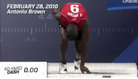 Eight years ago today... @AB84 introduced himself to NFL scouts. In a BIG way. 😳😳😳  📺: 2018 NFL Combine starts Friday (9am ET) on @nflnetwork. https://t.co/0tqghREjow: UNEE  FEBRUARY 28, 2010  Antonio Brown  6  4  IIII EIHETT1  4.0  4BXKRD 0.00 Eight years ago today... @AB84 introduced himself to NFL scouts. In a BIG way. 😳😳😳  📺: 2018 NFL Combine starts Friday (9am ET) on @nflnetwork. https://t.co/0tqghREjow