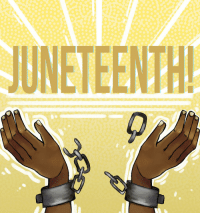 staff:  tailormoblee:This Day in History: Juneteenth is the oldest known celebration commemorating the ending of slavery in the United Sates. Dating back to 1865, it was on June 19th that the Union soldiers landed at Galveston, Texas with news that the war had ended and that the enslaved were now free two and a half years after President Lincoln's Emancipation Proclamation. Happy Juneteenth, Tumblr 🖤: UNETEENTH staff:  tailormoblee:This Day in History: Juneteenth is the oldest known celebration commemorating the ending of slavery in the United Sates. Dating back to 1865, it was on June 19th that the Union soldiers landed at Galveston, Texas with news that the war had ended and that the enslaved were now free two and a half years after President Lincoln's Emancipation Proclamation. Happy Juneteenth, Tumblr 🖤