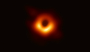 Taken, Tumblr, and Black: unexplained-events:  3 years ago MIT grad student Katie Bouman led the creation of a new algorithm to produce the first-ever image of a black hole. Today (first time ever) that image of a black hole was released. It is larger than the size of our entire solar systemImage taken using the Event Horizon Telescope   WE GOT A BLACK HOLE!!I repeatWE GOT A BLACK HOLE