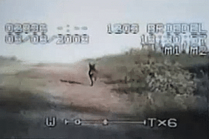 unexplained-events:   Brandon Riede, a DeWitt County (Texas) police officer, filmed this strange animal from his film cam in 2008.The strange creature can be seen running away from the car, and looks like a hairless coyote-type creature with a long snout and big ears. The short legs upfront and the long snout made him think it was something other than a coyote. Riede believes what he caught on camera was The Chupacabra VIDEO : unexplained-events:   Brandon Riede, a DeWitt County (Texas) police officer, filmed this strange animal from his film cam in 2008.The strange creature can be seen running away from the car, and looks like a hairless coyote-type creature with a long snout and big ears. The short legs upfront and the long snout made him think it was something other than a coyote. Riede believes what he caught on camera was The Chupacabra VIDEO
