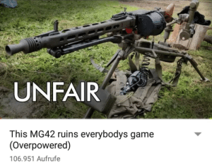 Allied soliders going up against the beast of Omaha (June 6. 1944): UNFAIR  This MG42 ruins everybodys game  (Overpowered)  106.951 Aufrufe Allied soliders going up against the beast of Omaha (June 6. 1944)