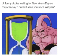 "Meme, Http, and Waiting...: Unfunny dudes waiting for New Year's Day so  they can say ""I haven't seen you since last year"" Huge meme potentials, invest now!! via /r/MemeEconomy http://bit.ly/2Q5PVzy"