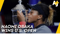 Naomi Osaka won against her idol Serena Williams and became the first Japanese player to win the Grand Slam.: UNI  NAOMI OSAKA  WINS U.S. OPEN Naomi Osaka won against her idol Serena Williams and became the first Japanese player to win the Grand Slam.