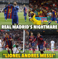 """Barcelona, Memes, and FC Barcelona: unicef  2012  REAL MADRID'S NIGHTMARE  Quebec 10  unicef  LION ELANDRES MESSI"""" D10S he is 🙏🙏 Please like FC Barcelona Ladies for more exciting updates on Barcelona"""