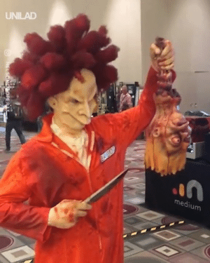 Dank, Life, and Cosplay: UNILAD  el  medium This real-life Sideshow Bob cosplay is the coolest thing I've ever seen 😱😲
