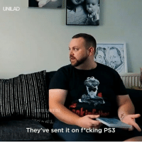 Dank, Fifa, and 🤖: UNILAD  HV10Z  They've sent it on f*cking PS3 When you get sent the wrong version of FIFA 😂😂  ReuBekah Vidz
