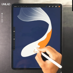 This guy created the most amazing Koi fish image made from digital art! 😱🐟: UNILAD  S  Gallery  O GAL SHIR This guy created the most amazing Koi fish image made from digital art! 😱🐟