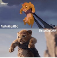 The Lion King trailer is here and it looks incredible, but how does it compare to the original? 🦁: UNILAD  The Lion King (1994)  The Lion King (2019) The Lion King trailer is here and it looks incredible, but how does it compare to the original? 🦁