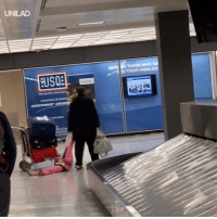 Dank, 🤖, and Got: UNILAD  THEIR F When your child throws a tantrum at the airport, but you've got a plane to catch… ✈️