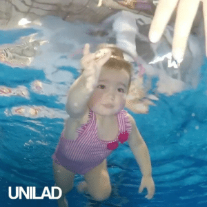Children, Dank, and Life: UNILAD These children little as 6 months can take up swimming survival lessons and they will be set up for life! 👶🏊♀️