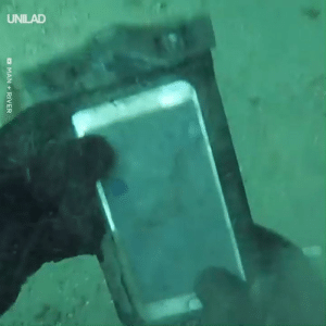 Dank, Metal, and 🤖: UNILAD This guy went underwater metal detecting and you won't believe what he found...😱🙌  Man + River