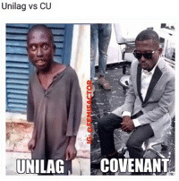 Memes, Run, and 🤖: Unilag vs CU  UNILAGCOVENANT Tag a unilag student and run 😭😭🏃🏽 Credit: @femifactor . KraksTV