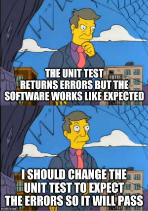 Unit tests, am I right?: Unit tests, am I right?