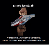 """Donald Trump, Jealous, and Memes: uniteb toe stanb  AMERICA WILL ALWAYS STAND WITH ISRAEL!  """"ANYONE THAT HARMS ISRAEL WILL KNOW THE WRATH OF GOD!"""" Shame on Obama! He's so jealous of Donald Trump he's gone mad!"""