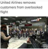 United Airlines really fucked up: United Airlines removes  customers from overbooked  flight United Airlines really fucked up