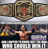 Memes, Wrestling, and Gravity: UNITED  AMPIO  WWE,I HEARD YOU HAVEANEW BRITISHCHAMPIONSHIP  ONLY ON  GRAVITY. FOR GOT. ME  ANDIHAPPEN TO KNOW JUST THE MAN  WHO SHOULD WIN IT PushNeville adrianneville pac wrestling prowrestling professionalwrestling meme wrestlingmemes wwememes wwe nxt raw mondaynightraw sdlive smackdownlive tna impactwrestling totalnonstopaction impactonpop boundforglory bfg xdivision njpw newjapanprowrestling roh ringofhonor luchaunderground pwg