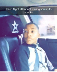Meme, Memes, and Best: United flight attendant waking you up for  snacks Wake up faces make the best meme faces 😂😂😂😂😂 Evil 😈🔥 - - 🚨FOLLOW: @whypree_tho_vip & @whypree_tv ⚠️ for more 🆘🔥‼️