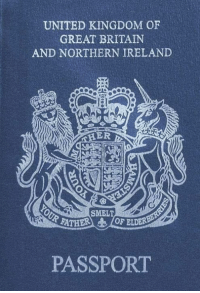 Some will get it right away 😜: UNITED KINGDOM OF  GREAT BRITAIN  AND NORTHERN IRELAND  ER  SMELT  RATHER 10F ELDER  PASSPORT Some will get it right away 😜