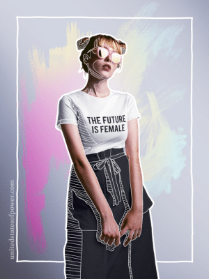 unitedstatesofpower: The Future is Female. shirt by United States of Power 10% of profits donated to charity : unitedstatesofpower: The Future is Female. shirt by United States of Power 10% of profits donated to charity