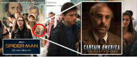 In the new SPIDER-MAN: HOMECOMING trailer, we catch a glimpse of CAPTAIN AMERICA: THE FIRST AVENGER's Abraham Erskine, the scientist who was in charge of Steve Roger's super serum experiment, in a mural right underneath a picture of Howard Stark at Peter's high school.  (Brian): Universe  www.facebook.com/MarvelCinematicUn  SPIDERMAN In the new SPIDER-MAN: HOMECOMING trailer, we catch a glimpse of CAPTAIN AMERICA: THE FIRST AVENGER's Abraham Erskine, the scientist who was in charge of Steve Roger's super serum experiment, in a mural right underneath a picture of Howard Stark at Peter's high school.  (Brian)