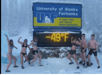 Chicago, Alaska, and Space: University of Alaska  Fairbanks  A Land, Sea  and Space  Grant Institution  49°F Chicago: You have the our sympathy -Alaska.