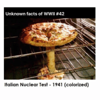 Facts, Memes, and Good: Unknown facts of WWII #42  Italian Nuclear Test 1941 (colorized) 😂😂 follow @official.agnew @official.agnew @official.agnew he always uncover good facts! noharmdone