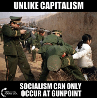 Memes, Capitalism, and Socialism: UNLIKE CAPITALISM  SOCIALISM CAN ONLY  TURNING  POINT USA Socialism Is Truly Evil #SocialismSucks