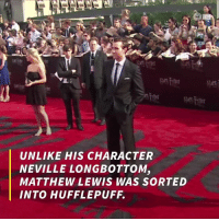 They Slytherin'd to another house.  via The Daily Buzz: UNLIKE HIS CHARACTER  NEVILLE LONGBOTTOM,  MATTHEW LEWIS WAS SORTED They Slytherin'd to another house.  via The Daily Buzz