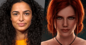 Unlike the video games, the actress of Triss Merigold in Witcher is black-haired. This is because gingers have no soul, which is not a big deal in a video game.: Unlike the video games, the actress of Triss Merigold in Witcher is black-haired. This is because gingers have no soul, which is not a big deal in a video game.
